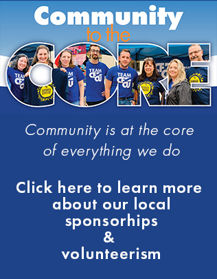 community to the core community is at the core of everything we do click to learn more about our local sponsorships and volunteerism